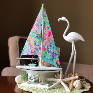 Lilly Pulitzer Sailboat ⛵️